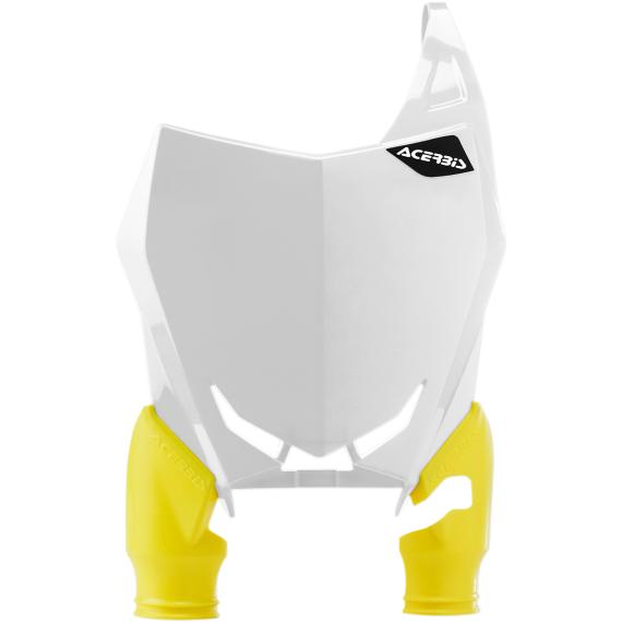 Acerbis Raptor Number Plate - White - Suzuki