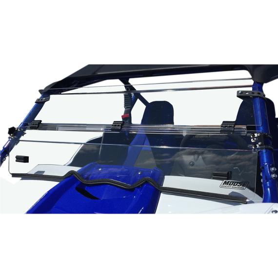 Moose Racing Full Folding Windshield - YXZ