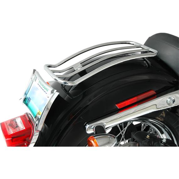 Motherwell Luggage Rack - Chrome - FXDLS