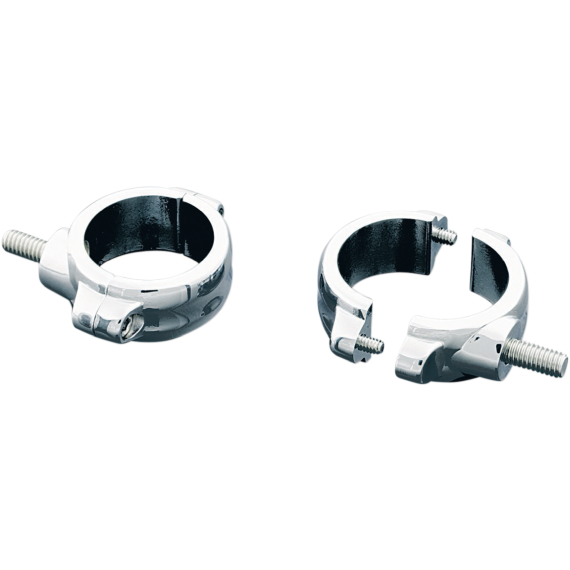 Kuryakyn Fork Mount Clamps - 54-58 mm - Chrome