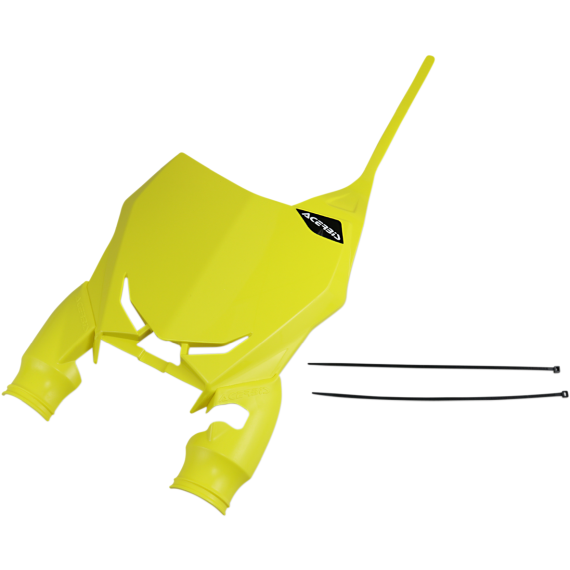 Acerbis Raptor Number Plate - Yellow - RMZ 450