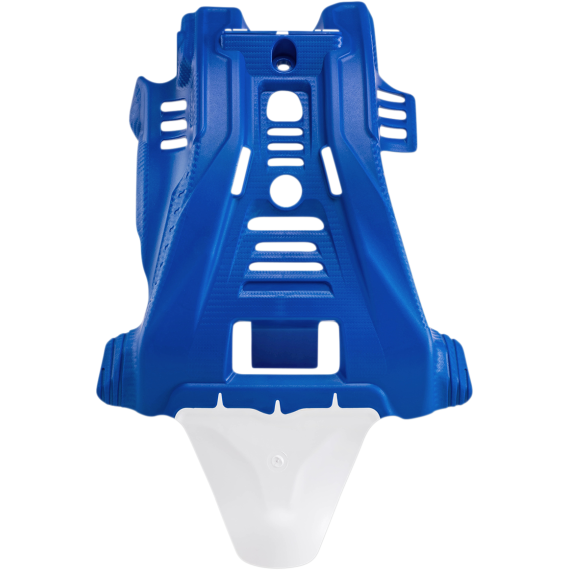 Acerbis Skid Plate - Blue/White