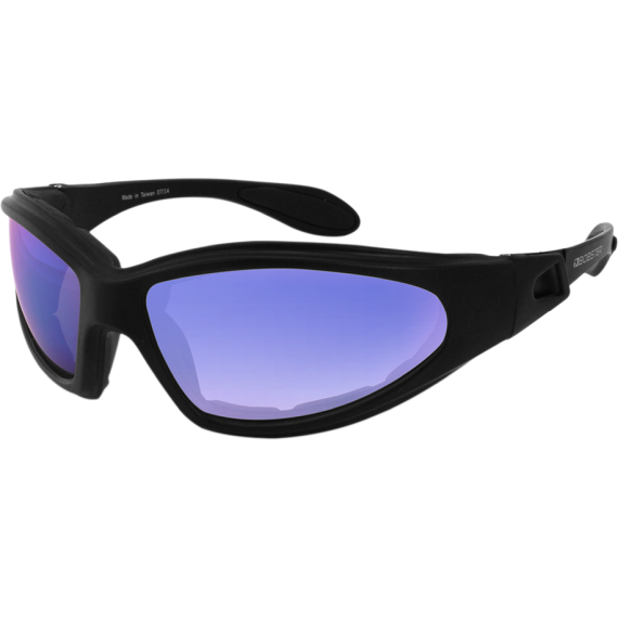 Bobster GXR Goggles/Sunglasses - Smoke Cyan Mirror