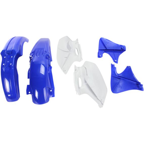 Acerbis Plastic Body Kit - '99 OE Blue/White - YZ400