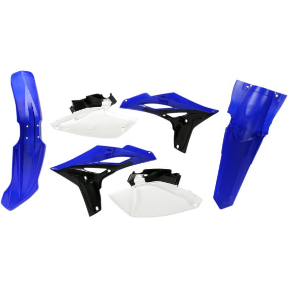 Acerbis Plastic Body Kit - '10 OE Blue/Black/White - YZ250F