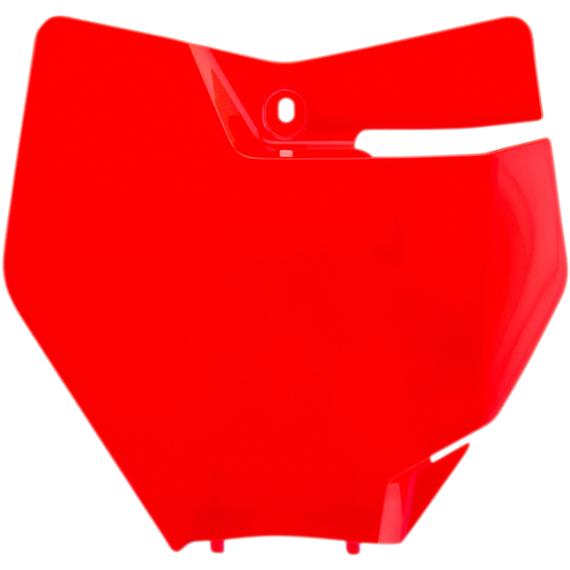 Acerbis Number Plate - KTM - Fluorescent Orange