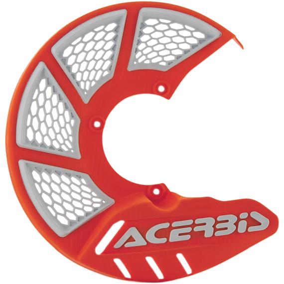 Acerbis Mini X-Brake Disc Cover - 16 Orange/White