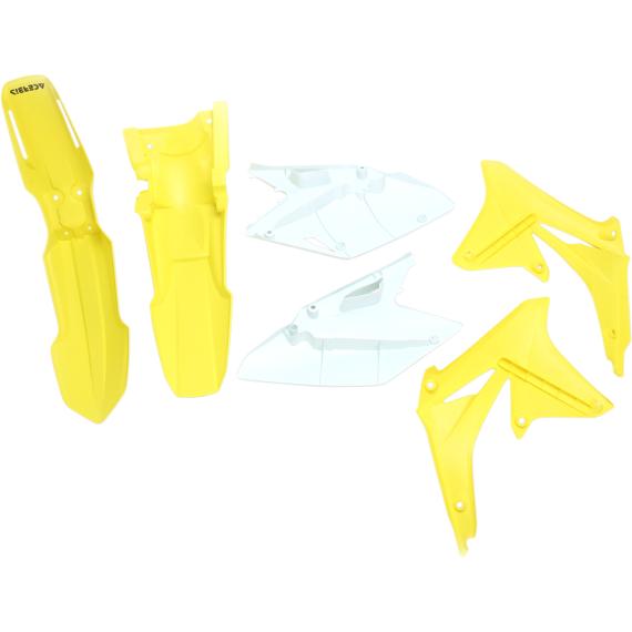 Acerbis Standard Body Kit - '11-'12 OE Yellow/White