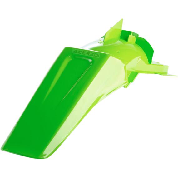 Acerbis Plastic Rear Fender - Green - KX - '99-'00