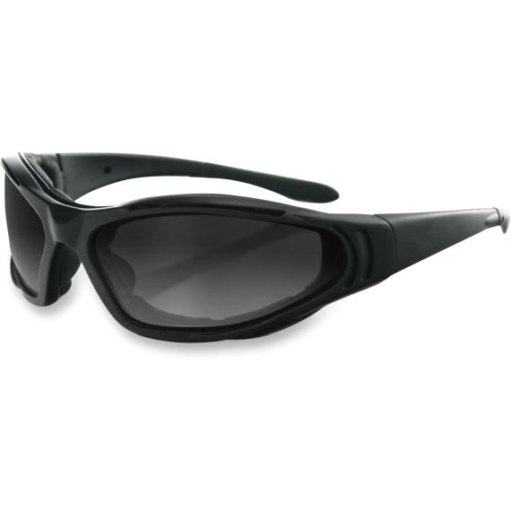 Bobster Raptor II Sunglasses - Matte Black - Interchangeable Lens - Lemans