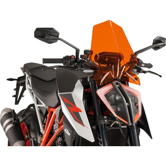 PUIG New Generation Windscreen - Orange - KTM