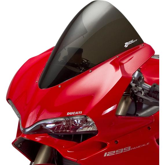 Zero Gravity Corsa Windscreen - Smoke - Panigale 1299