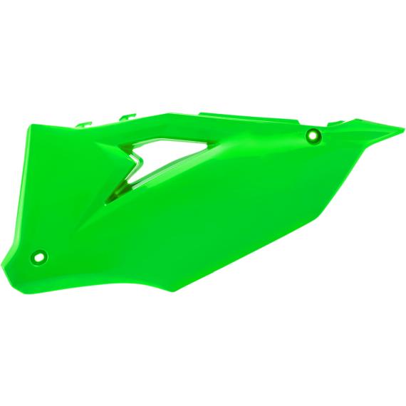Acerbis Side Panels - Fluorescent Green
