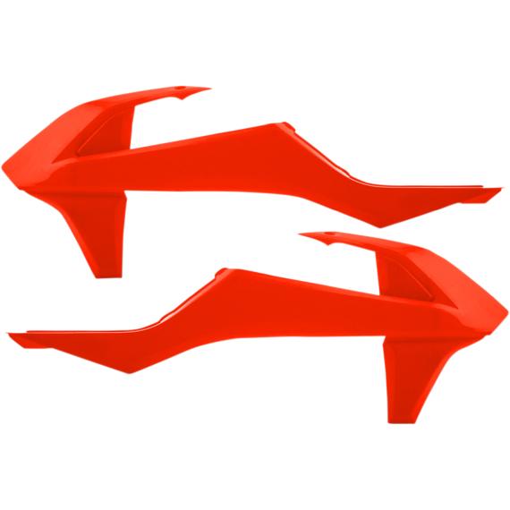 Acerbis Radiator Shrouds - KTM - Fluorescent Orange