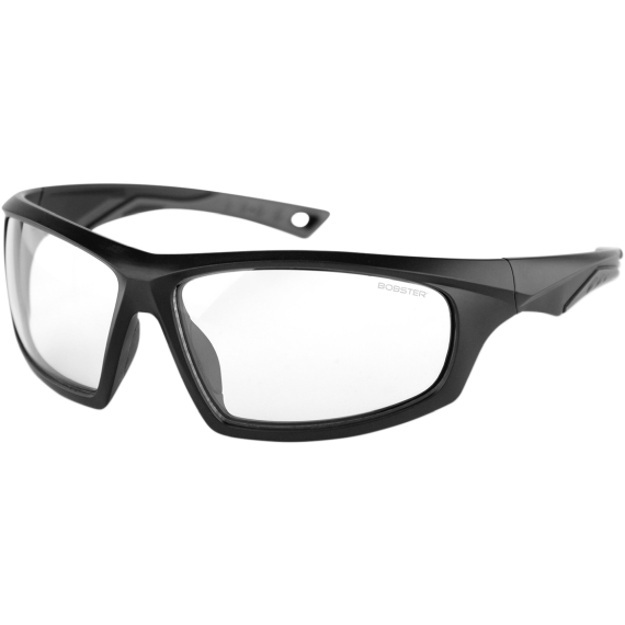 Bobster Vast Sunglasses - Matte Black - Clear