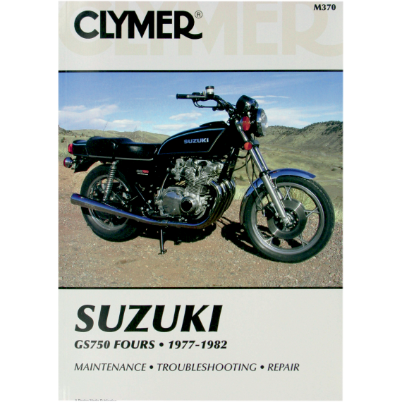 Clymer Manual - Suzuki GS 750
