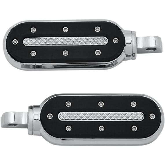 Kuryakyn Heavy Industry Shift Peg - With Adapter - Chrome