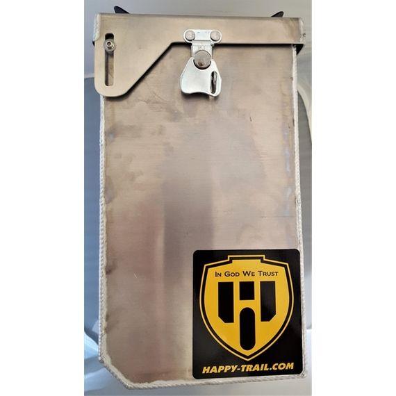 "Happy Trails Products Aluminum Pannier Kit OWYHEE 6"" Yamaha TW200"