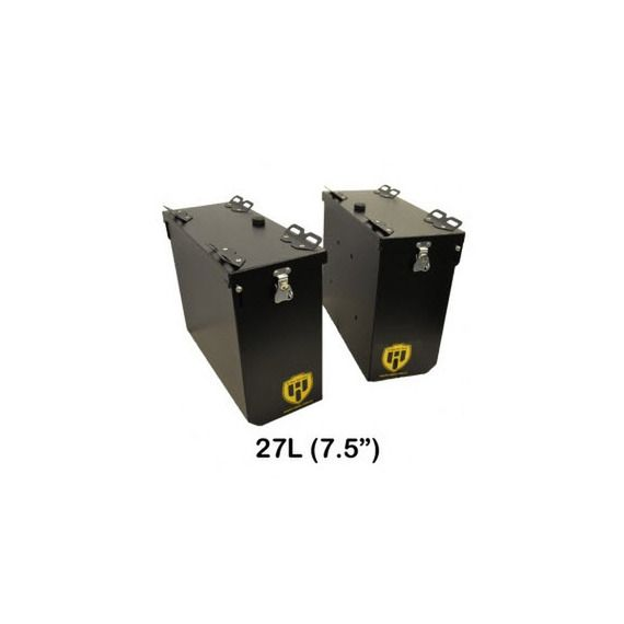 Happy Trails Products Aluminum Pannier Kit OWYHEE - HONDA CRF1000L