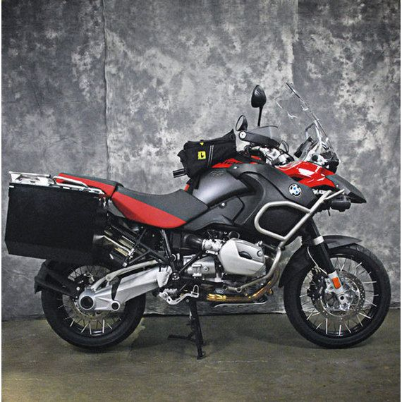 Happy Trails Products Teton Aluminum Panniers & Mount Kit only for BMW R1200GSA  With Stock Rack