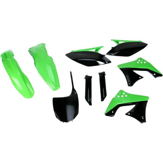 Acerbis Full Replacement Body Kit - '09,'12 OE White/Green/Black