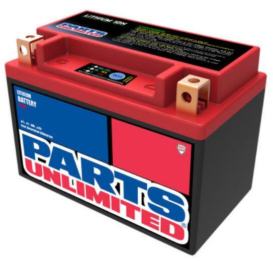Parts Unlimited Li-Ion Battery - HJTX9-FP