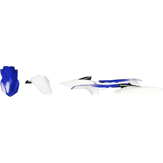 Acerbis Plastic Body Kit - '13 OE Blue/White/Black - YZ250F
