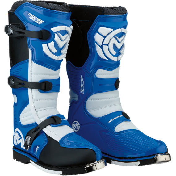 Moose Racing M1.3 MX Boots - Blue - Size 14