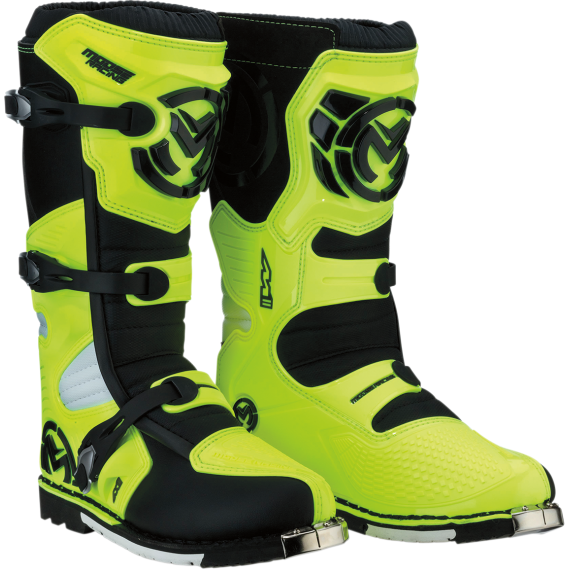 Moose Racing M1.3 MX Boots - Hi-Viz - Size 7