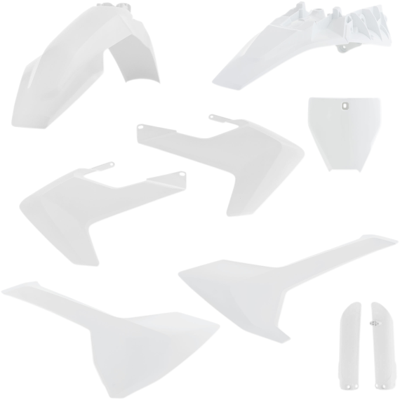 Acerbis Full Replacement Body Kit - White