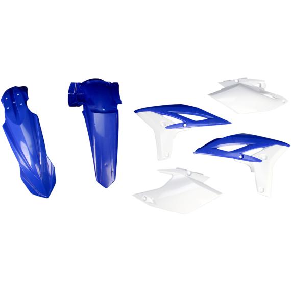 Acerbis Plastic Body Kit - '12 OE Blue/White - WR450F