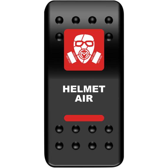 Moose Racing Rocker Switch - Helmet Air - Red