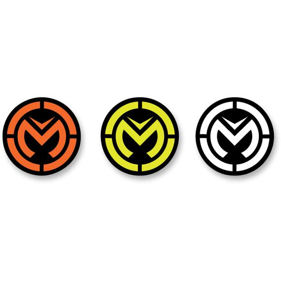 Moose Racing Moose Icon Decal - 3 Pack