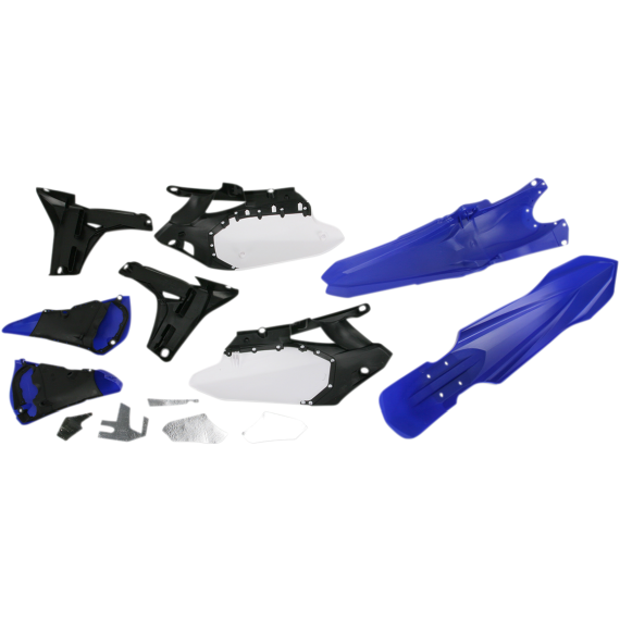 Acerbis Plastic Body Kit - '10 OE Blue/Black/White - YZ450F