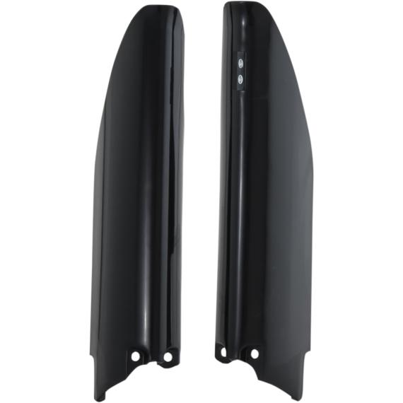 Acerbis Lower Fork Covers - Black