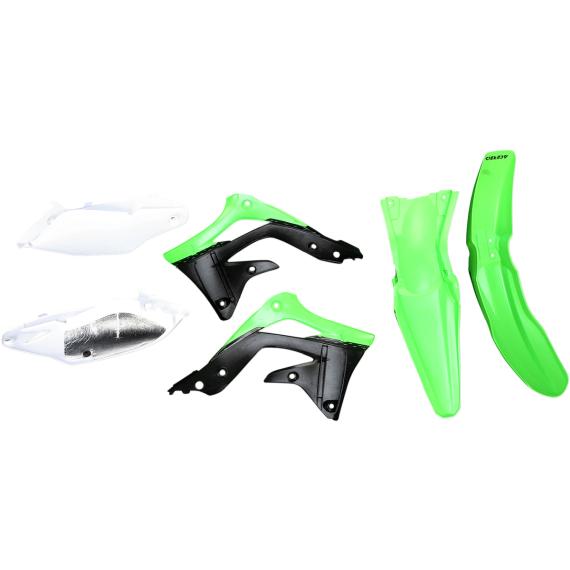 Acerbis Plastic Body Kit - OE '12 Green/White/Black - KX450F