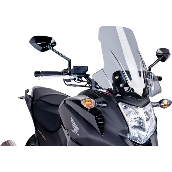 PUIG Touring Windscreen - Light Smoke - Honda