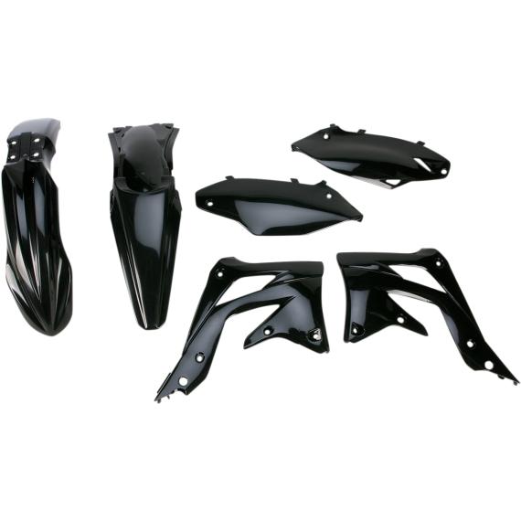Acerbis Plastic Body Kit - Black - KX450F