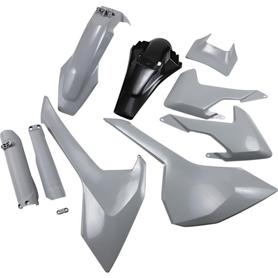 Acerbis Full Replacement Body Kit - Gray/Black