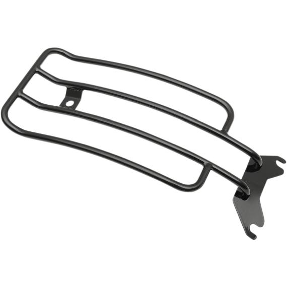 Motherwell Luggage Rack - Gloss Black - FLSTS