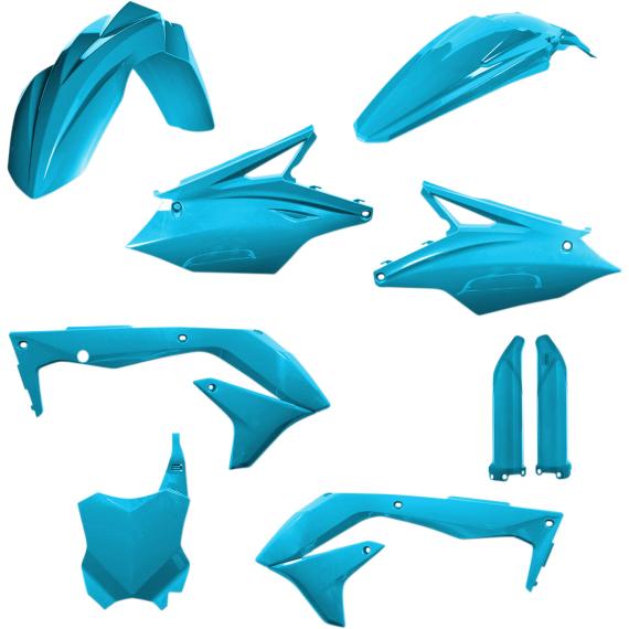 Acerbis Full Replacement Body Kit - Light Blue