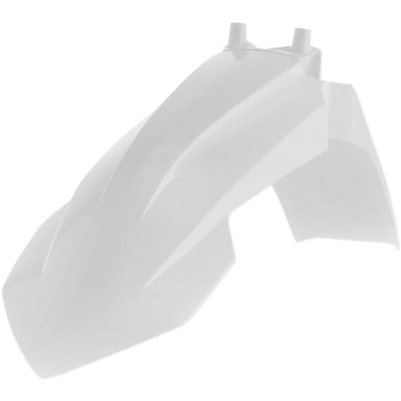 Acerbis Plastic Front Fender - White - SX65