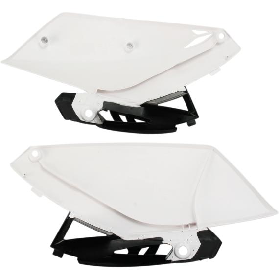 Acerbis Side Panels - YZ 250 F - White/Black