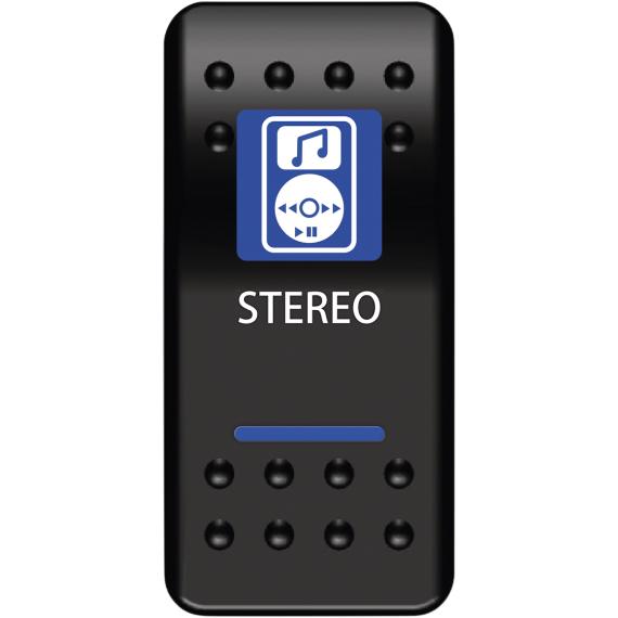 Moose Racing Stereo Rocker Switch