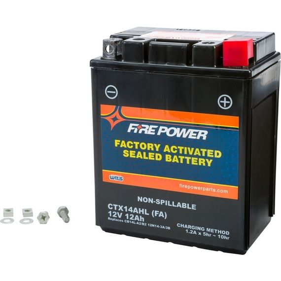 FLY CTX14AHL FIREPOWER Battery  KLR650 All Years