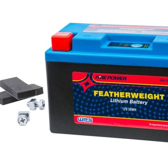 Power-Sonic Firepower Featherweight Lithium Battery - DRZ-400