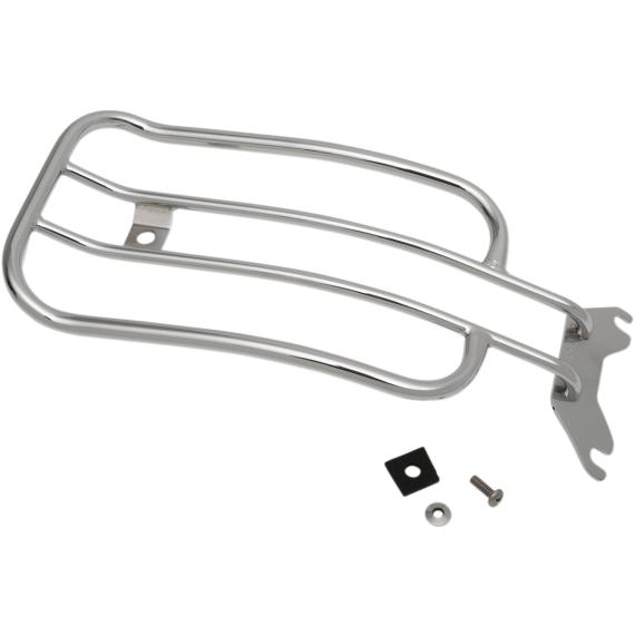 Motherwell Luggage Rack - Chrome - FLHC