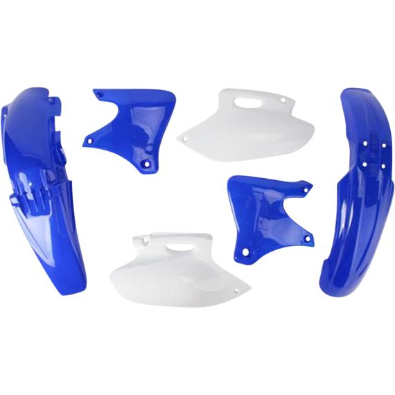 Acerbis Plastic Body Kit - '02 OE Blue/White
