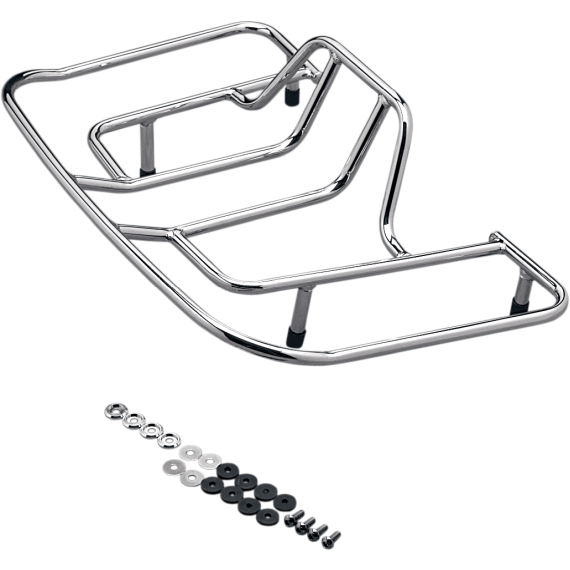 Parts Unlimited Tourbox Luggage Rack - Chrome - GL1800