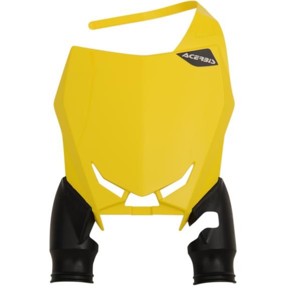 Acerbis Raptor Number Plate - Yellow/Black - RMZ 450